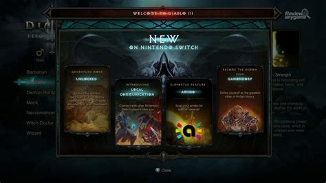 Diablo III: Eternal Collection - Switch | Review Any Game