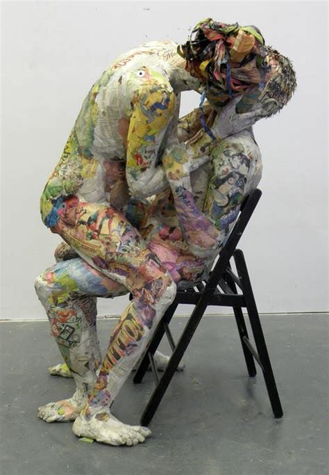 Awesome Newspaper Sculptures by Will Kurz | Gift Ideas