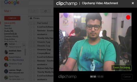 How to Record Webcam via Gmail and Send Recorded Videos as