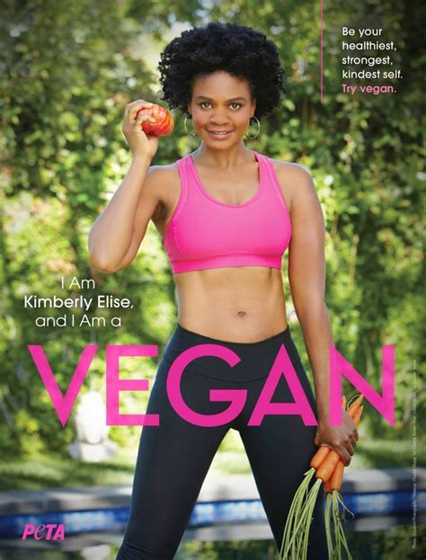 Kimberly Elise Sports Rock Hard Abs in a New Ad for PETA