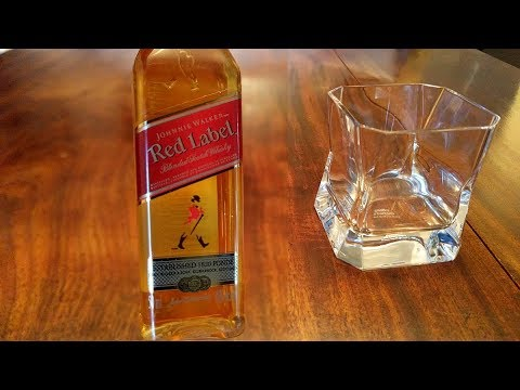 I Have An Old Bottle Of Johnnie Walker Red Label From The