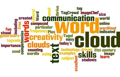 Poetry & Short Story Reference Center Lesson Plan: Word Clouds