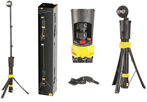 Rechargeable LED Flood Light 2 Cree Foldable Worklight