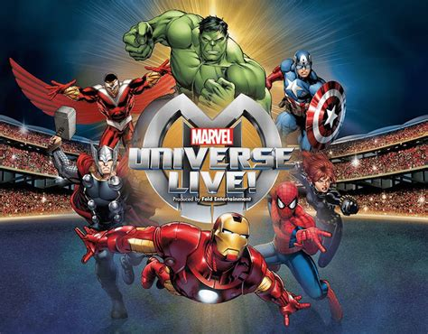 Performers for Marvel Universe Live Auditions for 2019