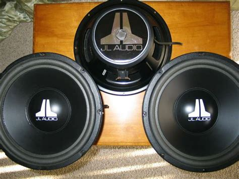 """JL Audio 12"""" W6 First USA Version 12W6V1 Old School for"""