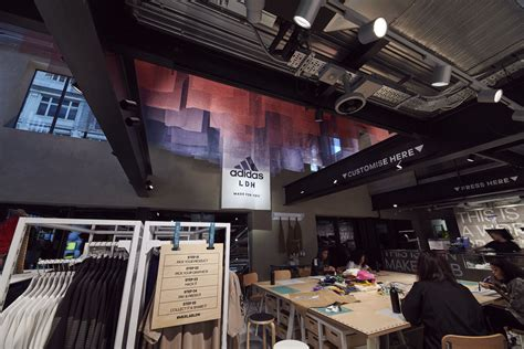 """Adidas launches """"most digital store ever"""" on Oxford Street"""