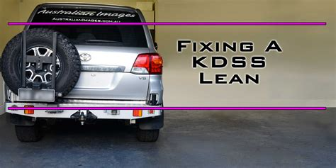 KDSS Balance and fixing a KDSS lean - Project 200