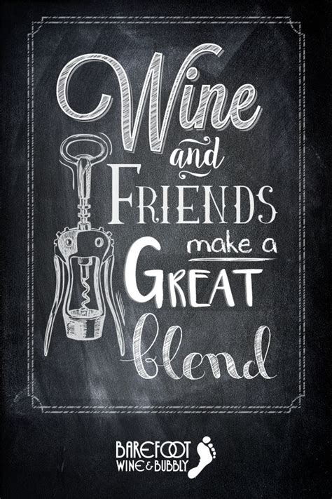 Wine and friends make a great blend