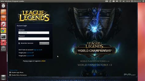 Something for Nothing: HowTo: Play League of Legends on Linux