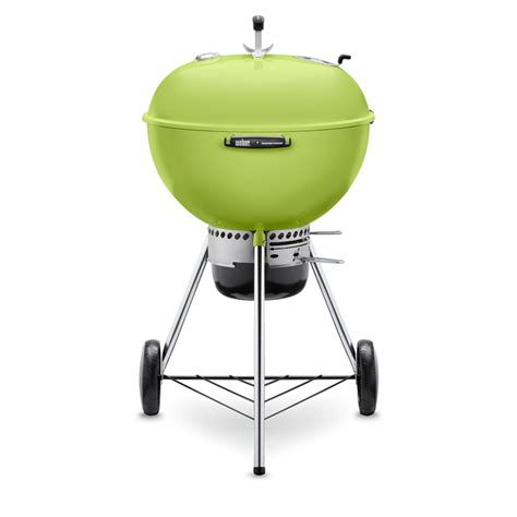 Weber 57cm Mastertouch Kettle Barbecue Spring Green