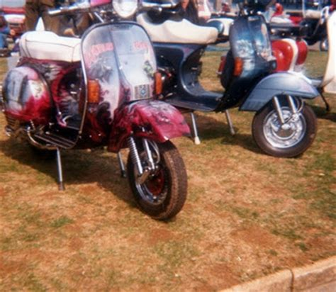 Scootering The Past: Isle of Wight Scooter Rally 1986