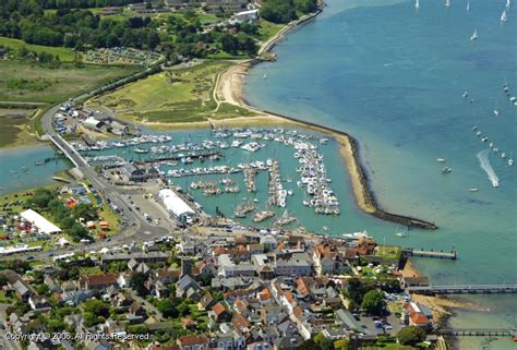 Yarmouth Harbour in Yarmouth, Isle of Wight, England