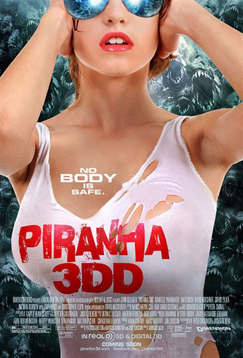 Piranha 3DD (2012) Movie Trailer, Pictures, Posters, News