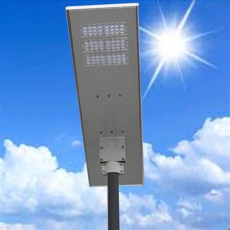 60w All In One Solar Street Light/led Integrated Solar