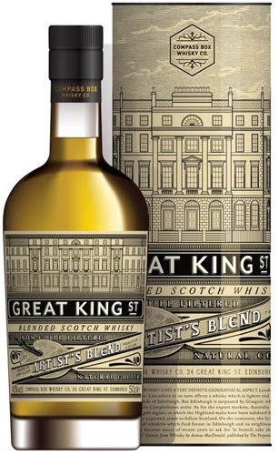Compass Box Great King St Artists Blend Scotch Reviews and
