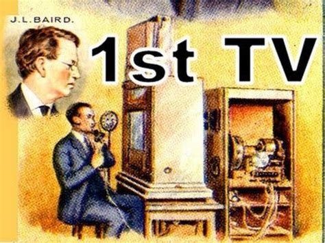 Oldest Television In The World John Logie Baird First TV