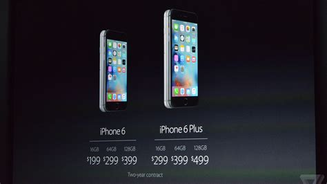 iPhone 6S release date September 25th, prices start at