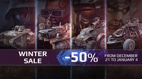 [PS4] Winter Sale on PS4! - News - Crossout