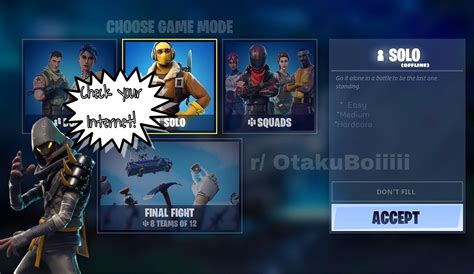 Fortnite Offline Mode - Play Against Bots - Can Toggle