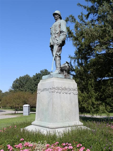 Henry Lawton Monument - IndyArtsGuide