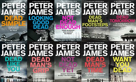 Peter James' Roy Grace books in order