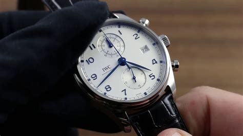 IWC Portugieser Chronograph Classic IW3903-02 Functions