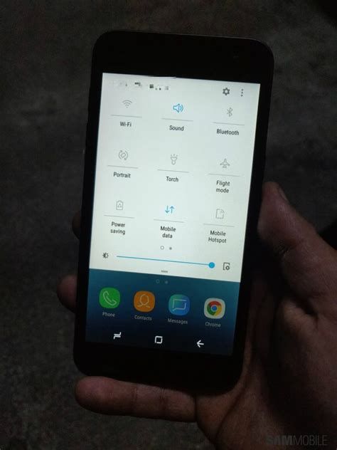 Samsung's First Android Go Phone Appears In Leaked Photos
