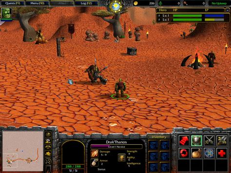Valley of Trials (In-Game) image - WarCraft III: World of
