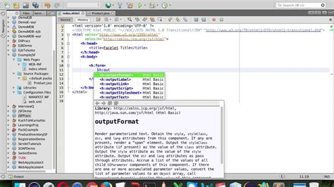 Java Server Faces Tutorial | JSF Example - YouTube
