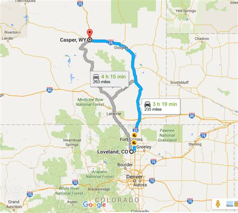 Day ONE: Loveland, Colorado – Wyoming | To the worlds Ends