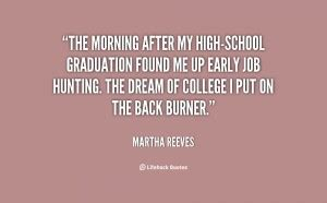 Life After High School Quotes