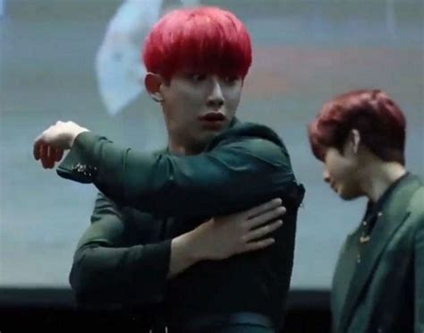 Monsta X's Wonho Rips His Jacket While Showing Off His