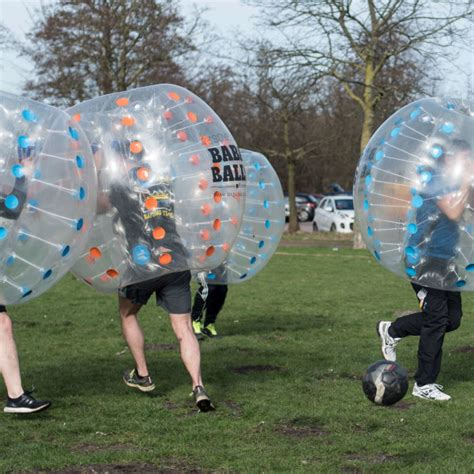 Outdoor-Bubble-Fußball in Amsterdam