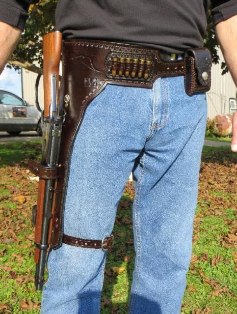 Mares Leg Western Pistol Rigs and Scabbards (With images