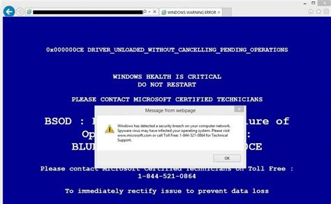 What is Tech Support Popup Scam And How It Works