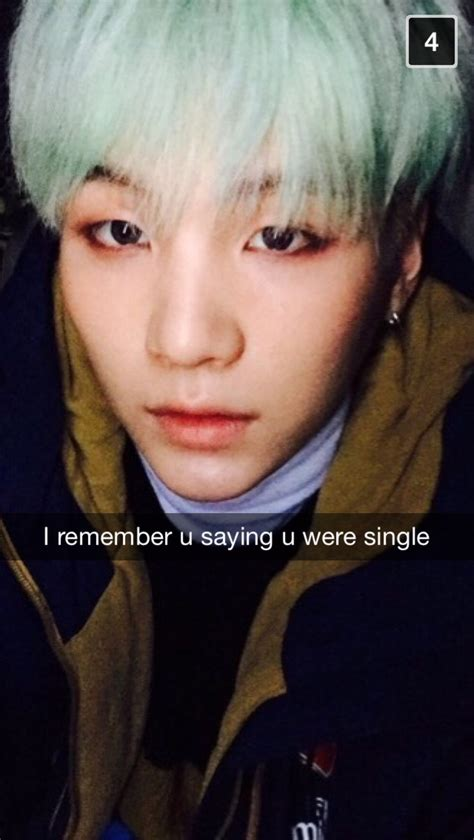 Bts Texts And Snaps — When your brother Suga finds out you