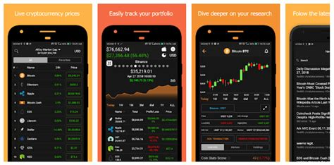 Coin Stats - Bitcoin and Altcoin prices tracking mobile