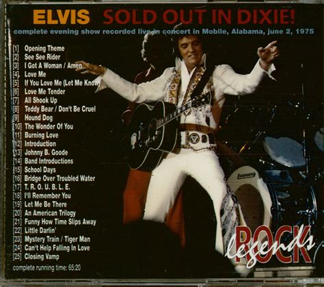 Elvis Presley CD: Sold Out In Dixie (CD) - Bear Family Records