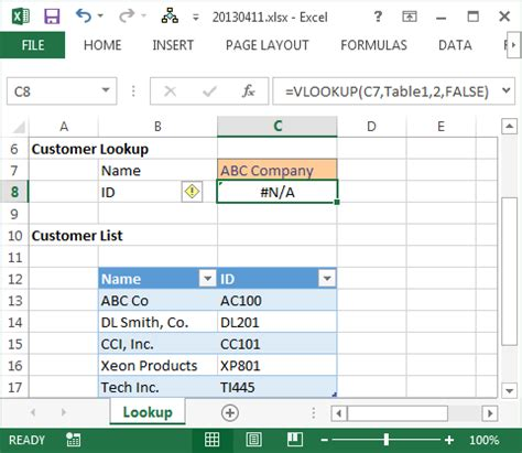 Perform Approximate Match and Fuzzy Lookups in Excel