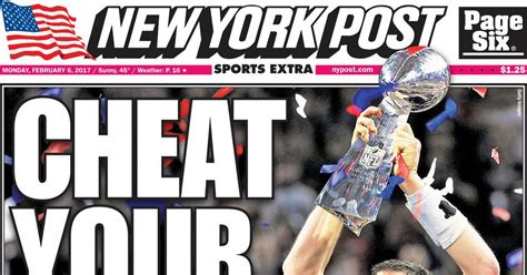 The best newspaper headlines from the Patriots' Super Bowl