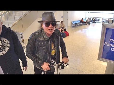 Injured Axl Rose Says He's A 'Big Prince Fan' Jetting Out