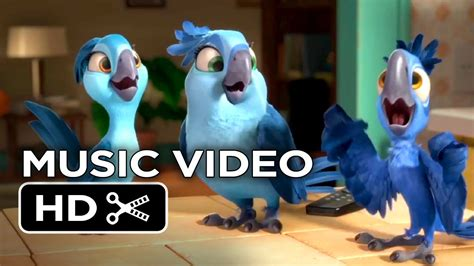 Rio 2 Movie MUSIC VIDEO - What Is Love (2014) Jesse