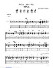 Roads Untraveled guitar pro tab by Linkin Park