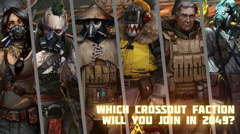 Which Crossout faction will you join in 2049? - News