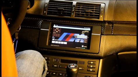 Android Interface for the BMW IBus - YouTube