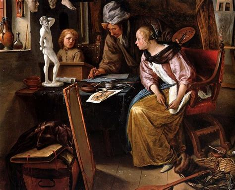 Drawing lesson - Jan Steen - WikiArt