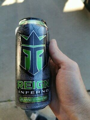 NEW REIGN INFERNO JALAPENO STRAWBERRY THERMOGENIC FUEL