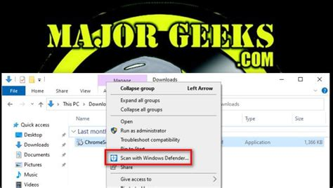 Download Add Windows Defender to the Context Menu in